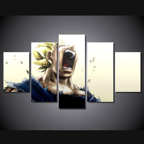 Vageta -Dragon Ball Z - - 5 Piece Canvas Set