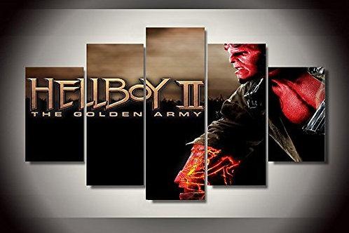Hellboy - 5 Piece Canvas Set