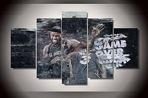 Lebron James - NBA - 5 Piece Canvas Set