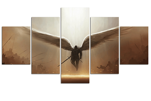 Art HD Diablo video game print art 5 pieces