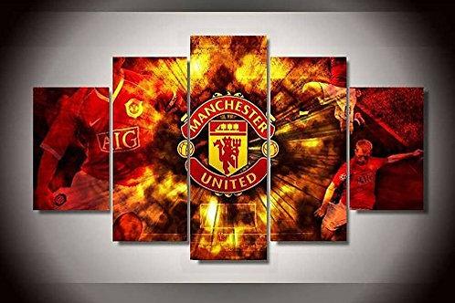 Manchester - 5 Piece Canvas Set