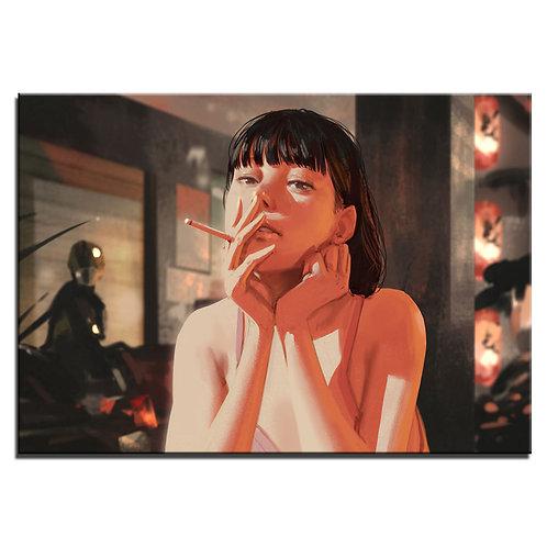 Tokyo Girl - 1 piece canvas