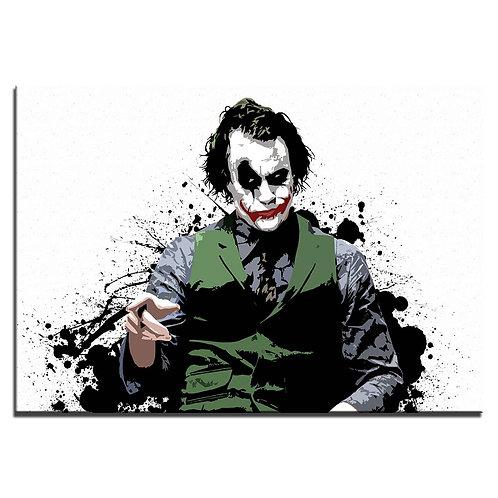 Modern Joker movie  -1 piece canvas