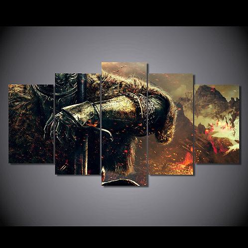 Dark Souls - 5 Piece Canvas Set