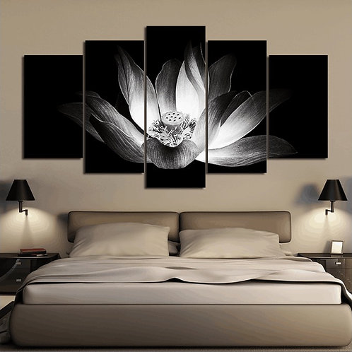 Flower - 5 Piece Canvas Set