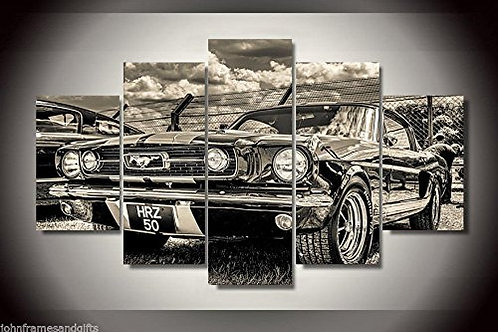 Ford Mustang 1965 - 5 Piece Canvas Set
