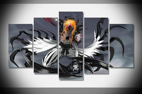 Hollow Ichigo - Bleach  - 5 Piece Canvas Set