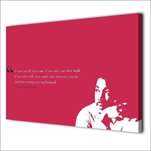 Martin Luther king motivation quote -1 piece canvas