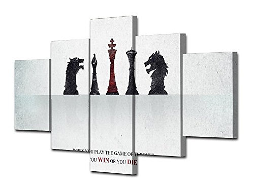 Game of Thrones - 5 Piece Canvas Set