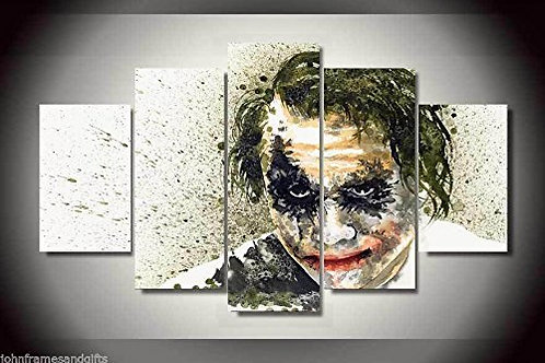 Joker - 5 Piece Canvas Set