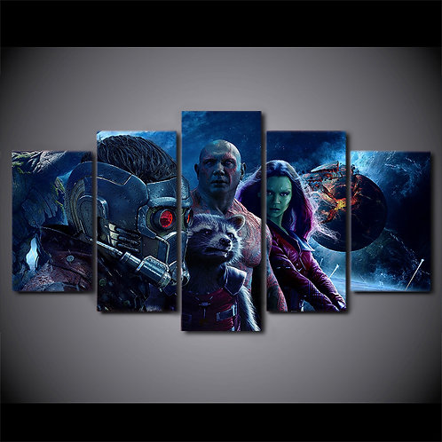 Guardians of the Galaxy 2 - 5 Piece Canvas Set