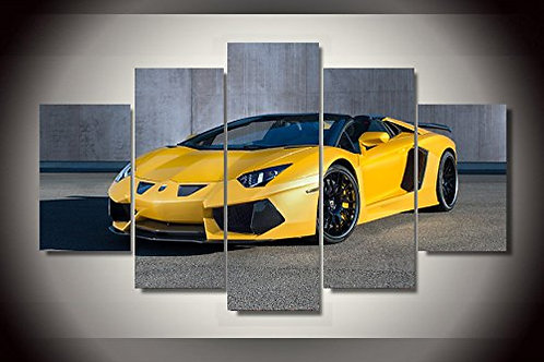 Lamborghini - 5 Piece Canvas Set