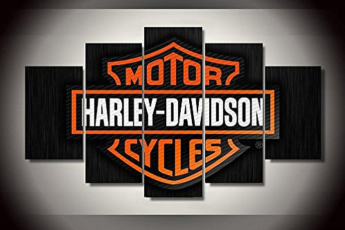 Harley Davidson - 5 Piece Canvas Setcoration 5 pieces