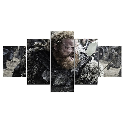 Game of thrones print canvas 5 pieces