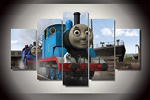 Thomas the Tank Engine - 5 Piece Canvas Set