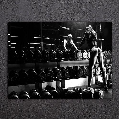Gym Training Day - 1 piece canvas