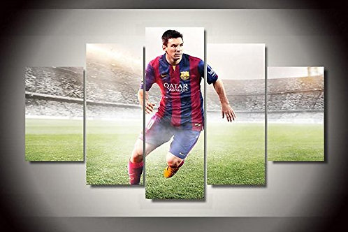 Messi - 5 Piece Canvas Set
