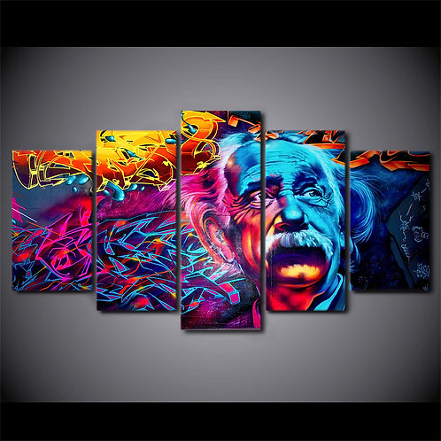 Albert Einstein - 5 Piece Canvas Set
