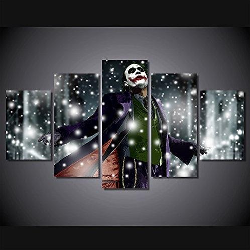 Joker - 5 Piece Canvas Set