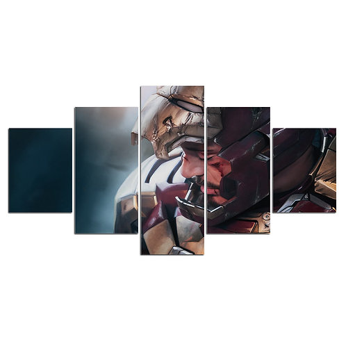 Iron Man Edward Stark - 5 Piece Canvas