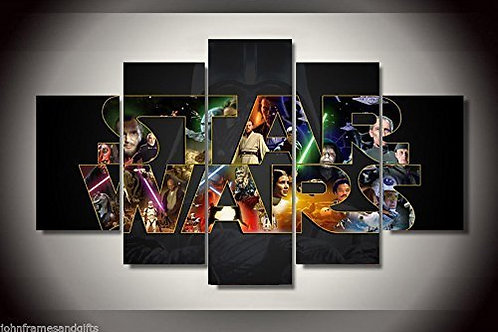 Star Wars - 5 Piece Canvas Set
