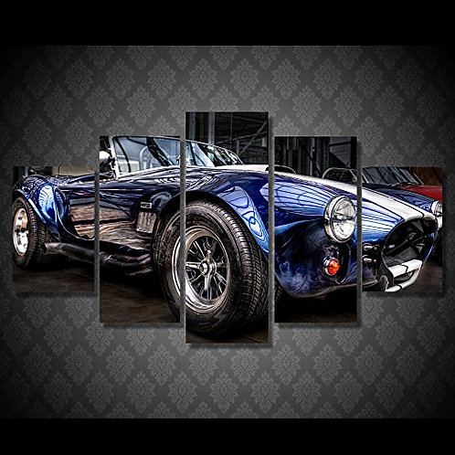 Sports Car - 5 Piece Canvas Set