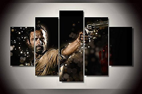The Walking Dead- 5 Piece Canvas Set