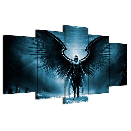 Fallen Angel - 5 Piece Canvas Set