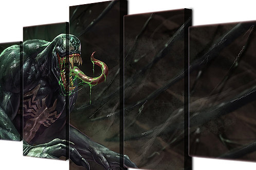 Venom - 5 Piece Canvas Set