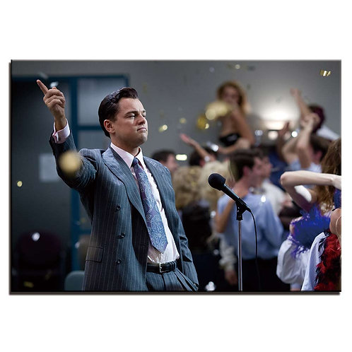 Wolf Of Wall Street - 1 piece canvas