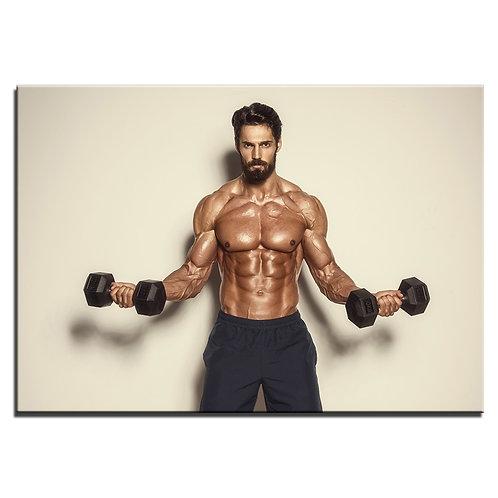 Fitness Day Gym - 1 piece canvas