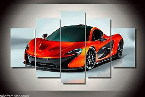 Super Car Mclaren - 5 Piece Canvas Set