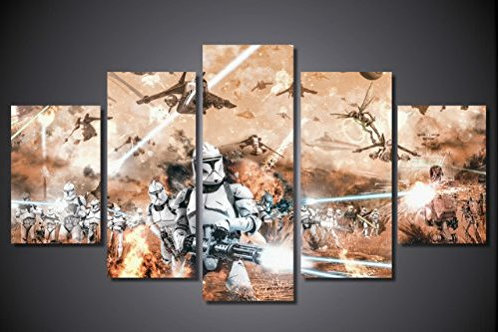 Star Wars - Stormtrooper Galactic - 5 Piece Canvas Set