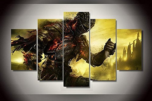 Dark Souls - 5 Piece Canvas Set