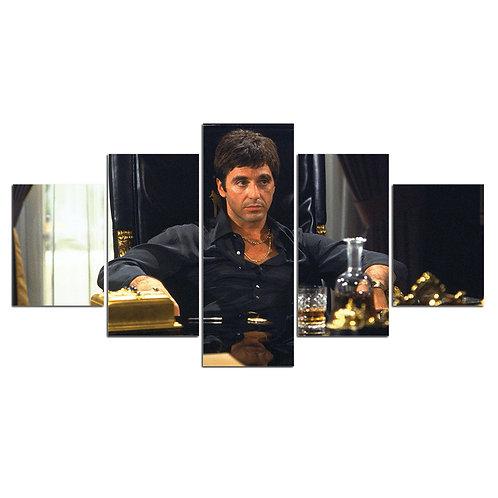 Print Home D?cor Scar face al Pacino print canvas 5 pieces