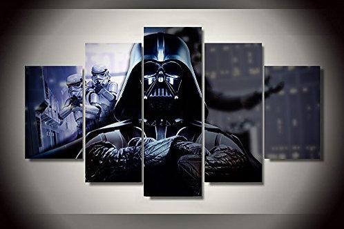 Darth Vader - 5 Piece Canvas Set