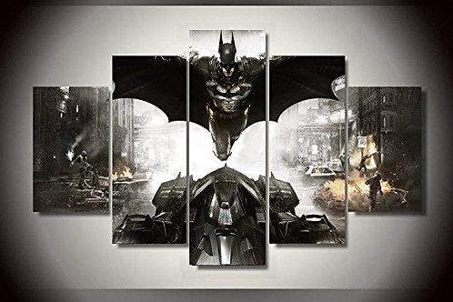 Batman - 5 Piece Canvas Set