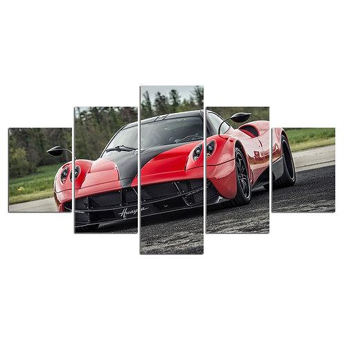 KOENIGSEGG AGERA super car wall art print canvas 5 pieces