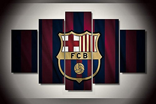Barcelona FC - 5 Piece Canvas Set