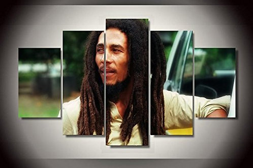 Bob Marley - 5 Piece Canvas Set