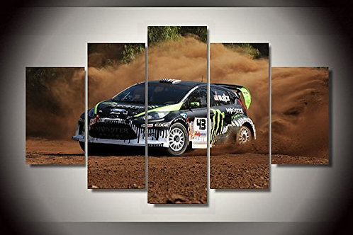 Ken Block - 5 Piece Canvas Set