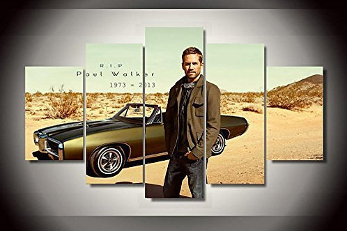 Paul Walker - 5 Piece Canvas Set