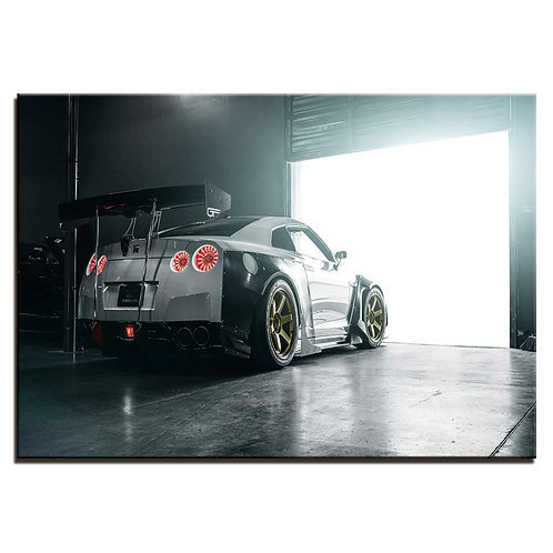 Nissan GTR Car - 1 piece canvas