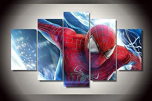 Amazing Spiderman - 5 Piece Canvas Set