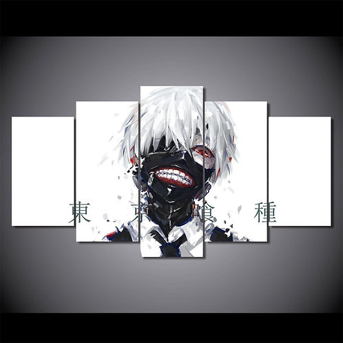Tokyo Ghoul - 5 Piece Canvas Set