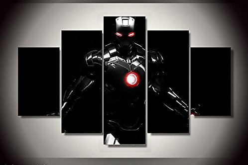 Iron Man - 5 Piece Canvas Set