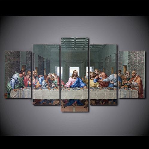 Last Supper - 5 Piece Canvas Set
