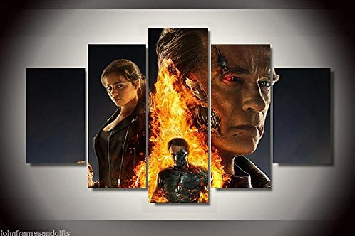 Terminator - 5 Piece Canvas Set