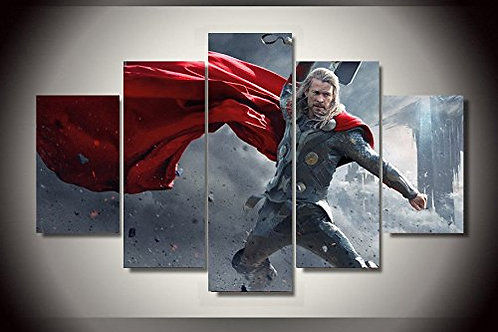 Thor - 5 Piece Canvas Set