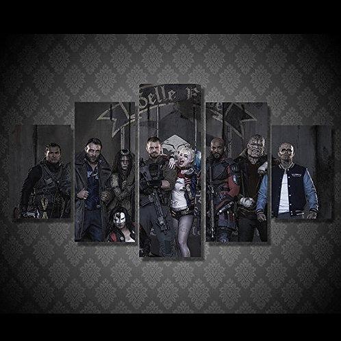 Suicide Squad - 5 Piece Canvas Set